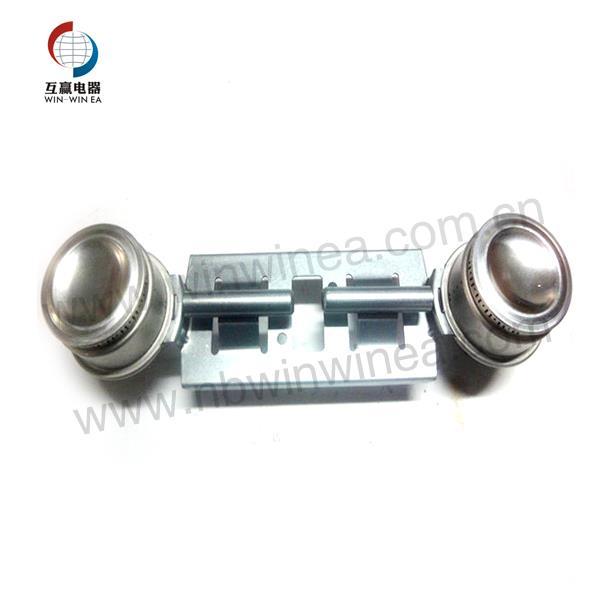 GE WB16K10026 Gas Range Double Burner Assembly
