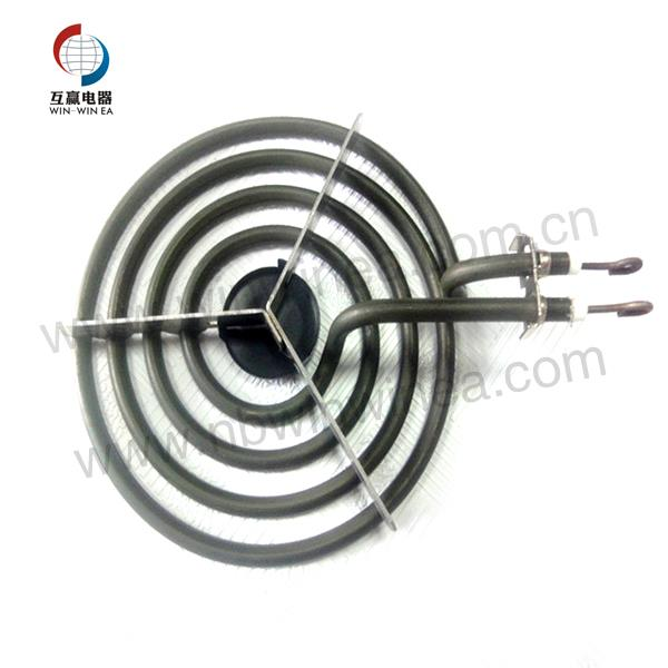 Burner Parts Electric Heating Surface Element 6 Inches With 4 Circular Coil Wraps