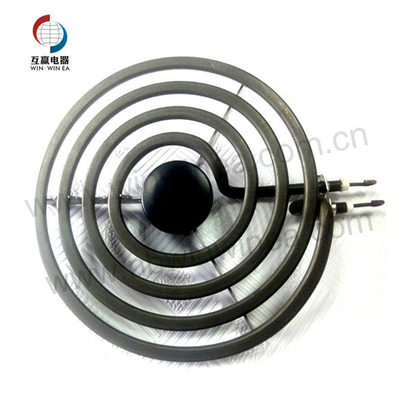 Burner Parts Electric Heating Ibabaw Element 6 Pulgada Sa 4 Circular Coil Wraps